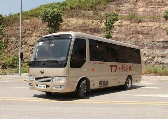 100 Yutong T7 to serve at G20 Summit in Hangzhou